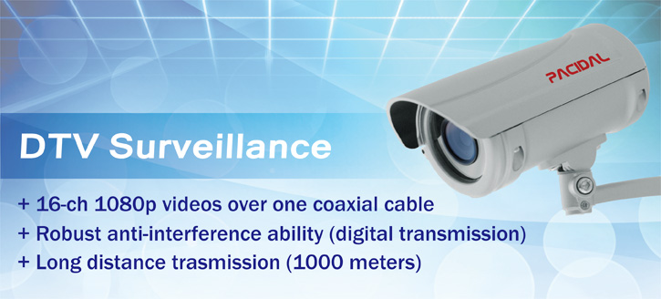 Pacidal-DTV security systems (ccHDtv) and network